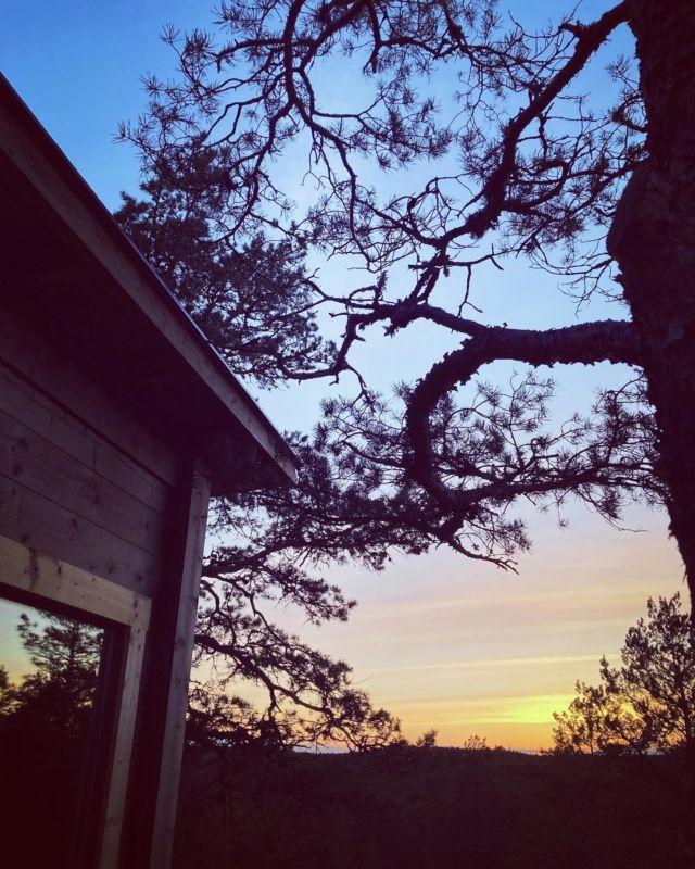 SUNSET ☀️  Mulla tulee auringonlaskusta aina mieleen @tiesto - Ten Seconds Before Sunrise biisi ⛅️  Se on yksi mun lemppari biiseistä ja se alkaa aina välittömästi jyskyttää mun päässä kun näen auringonlaskun - siis joka ikinen kerta! 😁  Mökillä näin näin upean auringonlaskun ja pistin oikein JBL:stä kyseisen biisin soimaan - voi mikä hetki 💛  Onko tuttu biisi? 🎼