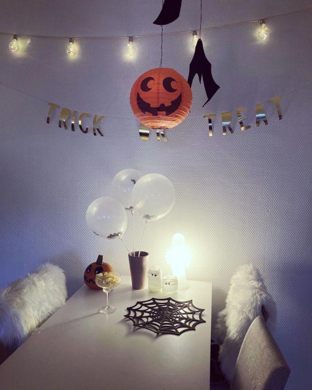 Spooky season 🎃🤡👻🧟🦇 Koristeletteko te kotia Halloweeniksi? 🕸